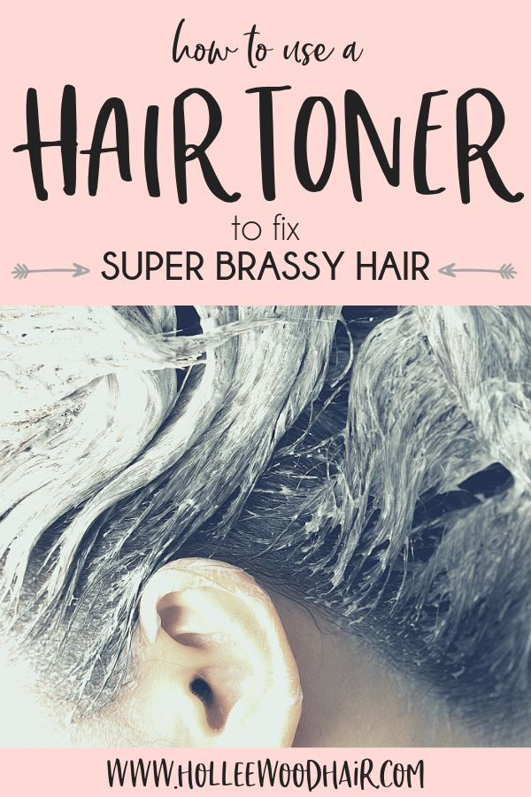 How To Use A Hair Toner For Brassiness Hair Color Hair