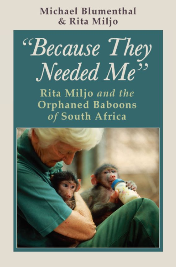A New Book About Rita And The Baboons Animal Welfare