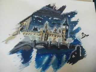 pintura acrílico -Londres-