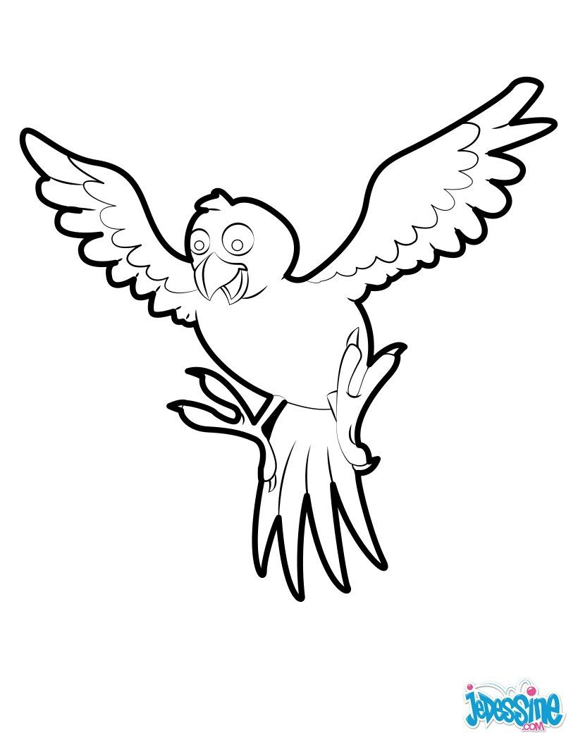 This Tropical Bird coloring page is awaiting your beautiful tropical ...