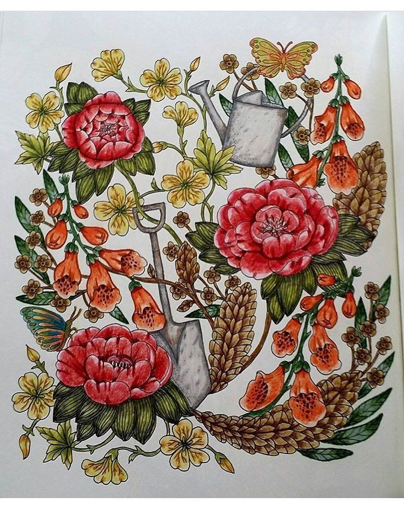 Lovely @oz_pam | COLOURED FLOWER AND FLORA PAGES | Pinterest