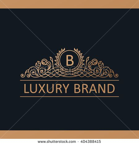 Calligraphic luxury line logo template flourishes calligraphic calligraphic luxury line logo template flourishes calligraphic elegant emblem royal logo design gold stopboris Choice Image