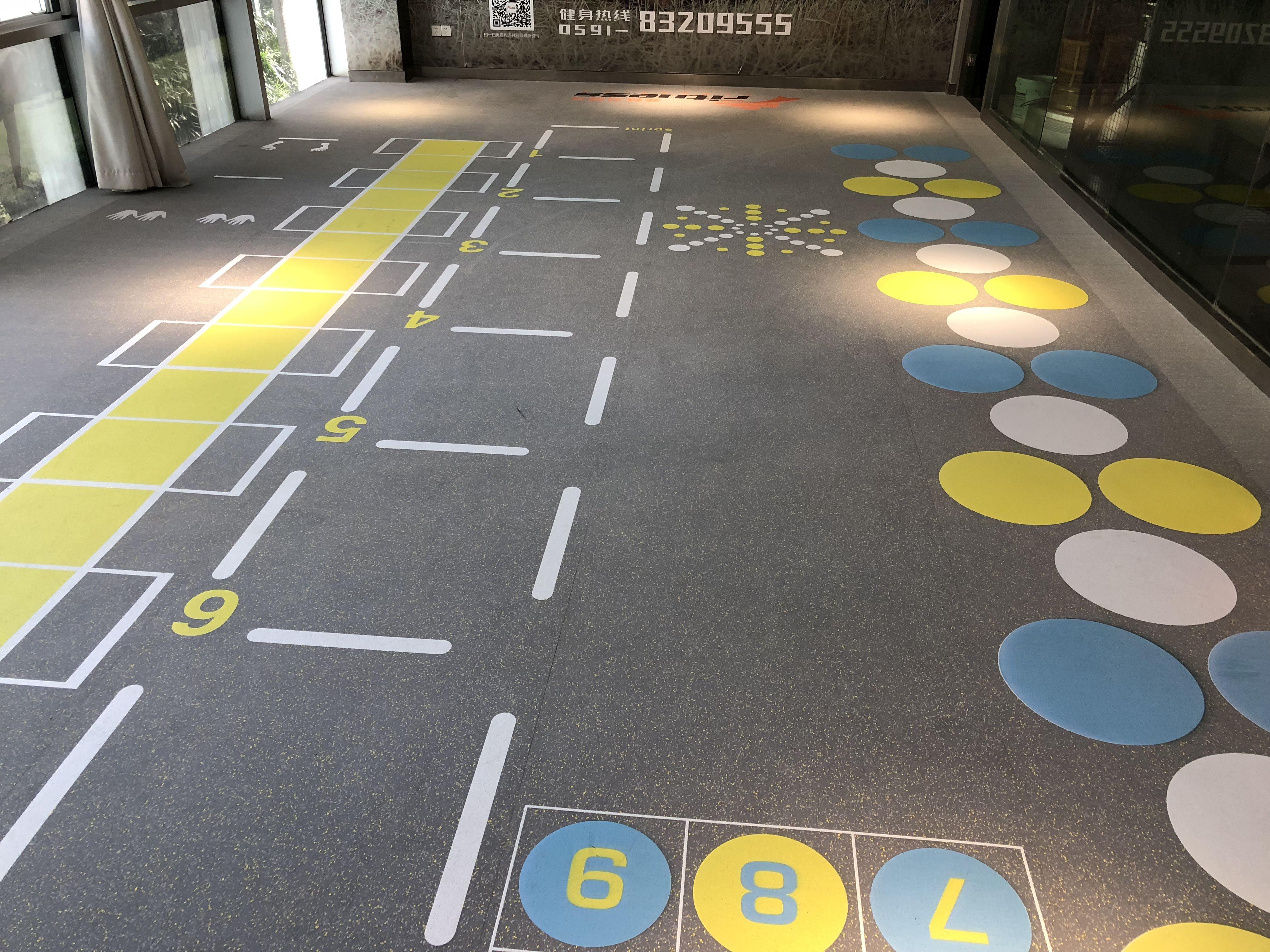 UV printing rubber flooring roll for gym Tel 0086571