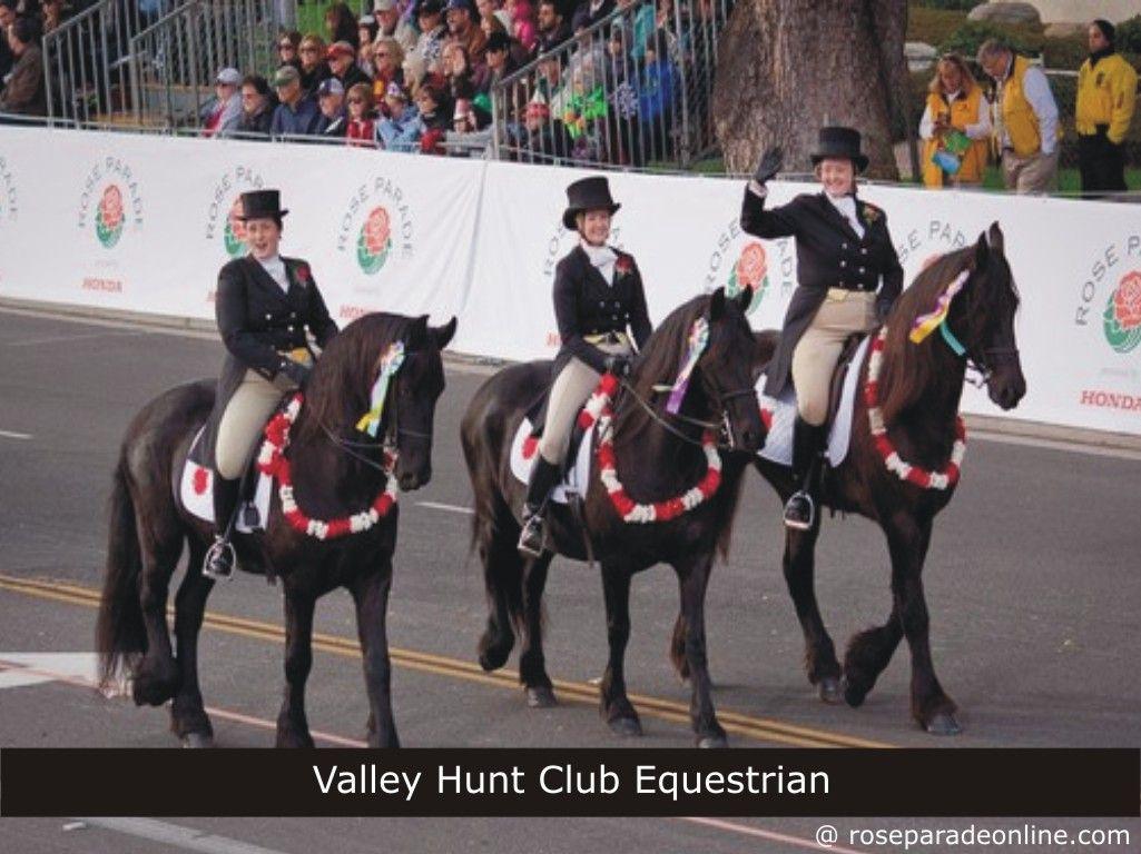 Valley Hunt Club Equestrian - Rose Parade 2016   Rose Parade ...