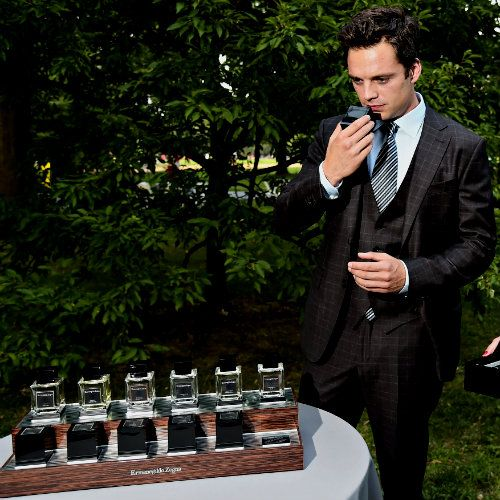 """Ermenegildo Zegna Essenze fragrance collection at the """"King Lear"""" Cast Party - August 15, 2014"""