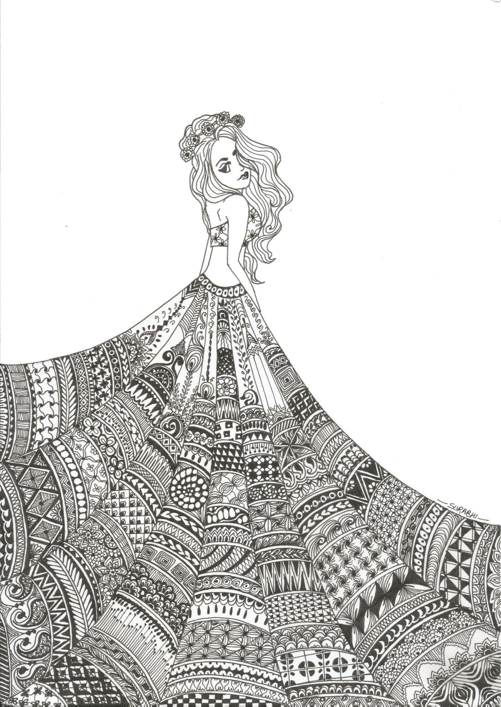 Red Carpet Art Drawings Simple Art Drawings Doodle Art Designs