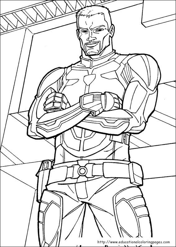 g i joe coloring pages GI Joe Coloring Pages   Educational Fun Kids Coloring Pages and  g i joe coloring pages