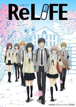 ReLIFE Genres Romance School Slice Of Life