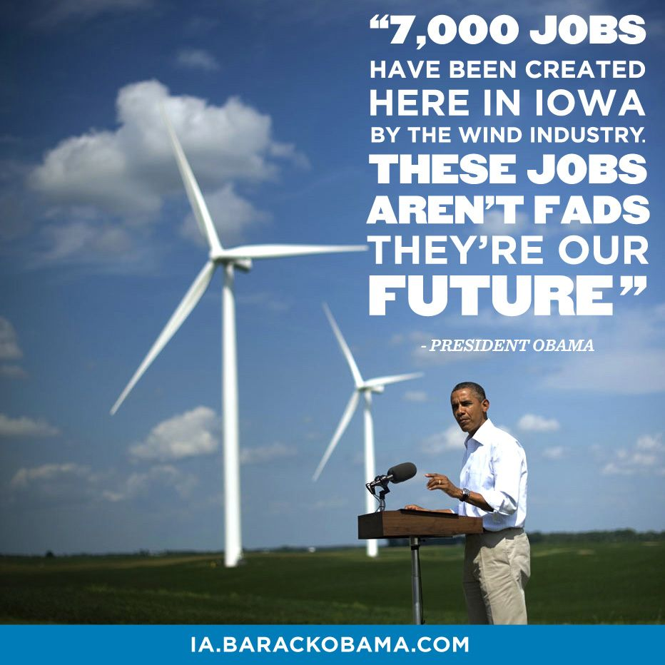 Wind and Renewable Energy industry are Creating our Jobs