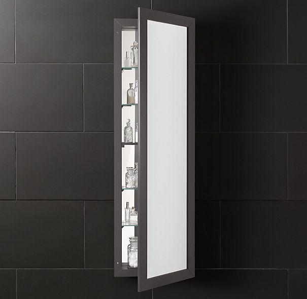 Hutton Full-Length Medicine Cabinet | Hall Bath ...