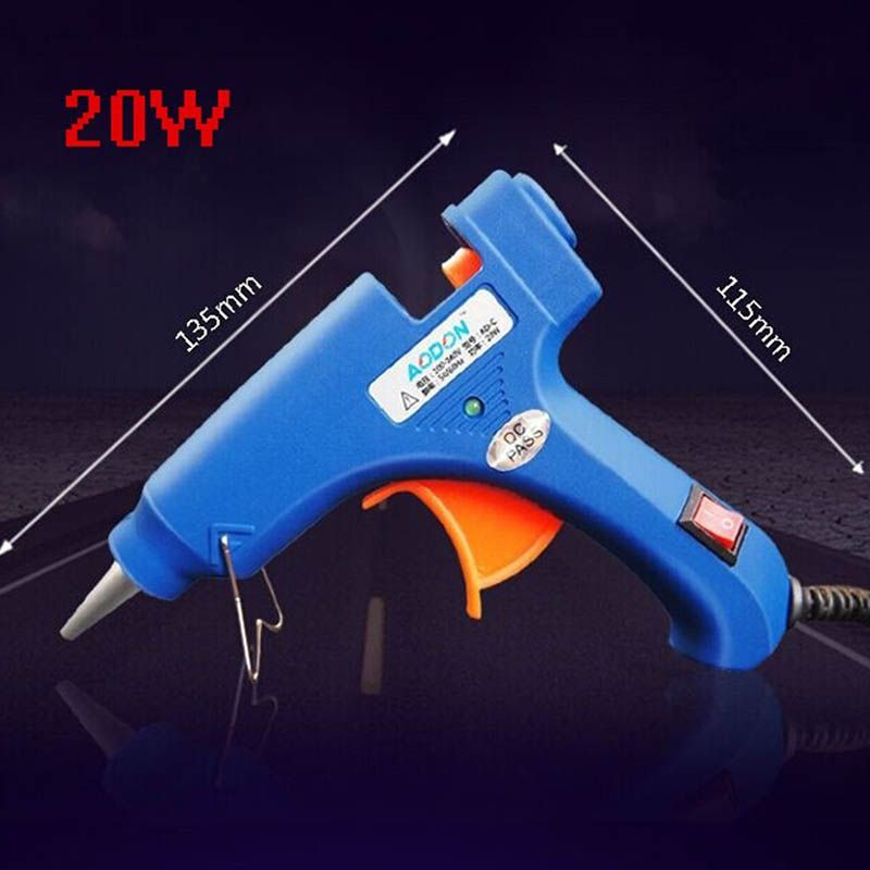$4.16 (Buy here: https://alitems.com/g/1e8d114494ebda23ff8b16525dc3e8/?i=5&ulp=https%3A%2F%2Fwww.aliexpress.com%2Fitem%2F20W-Hot-Glue-Gun-professional-EU-Plug-High-Temp-Heater-Art-Craft-Repair-Tool-Electric-Hot%2F32582703076.html ) 20W Hot Glue Gun professional EU Plug High Temp Heater  Art Craft Repair Tool Electric Hot Melt Glue Gun Power Tools KC1276 for just $4.16