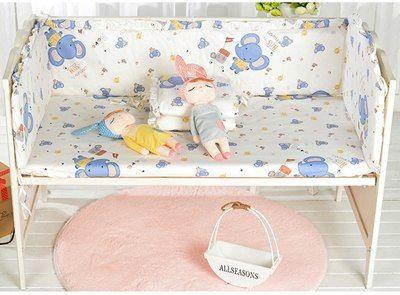 5 Stücke Cartoon Baby Bettwäsche Set Multifunktionale Baby Safe Baby