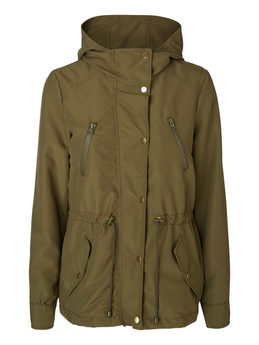 62702728f03d Hooded parka in army green from VERO MODA. | style | Pinterest ...