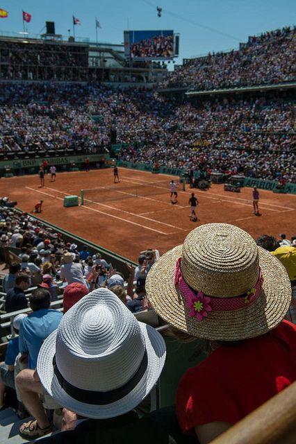 Roland Garros day - tennis by hebiflux, via Flickr