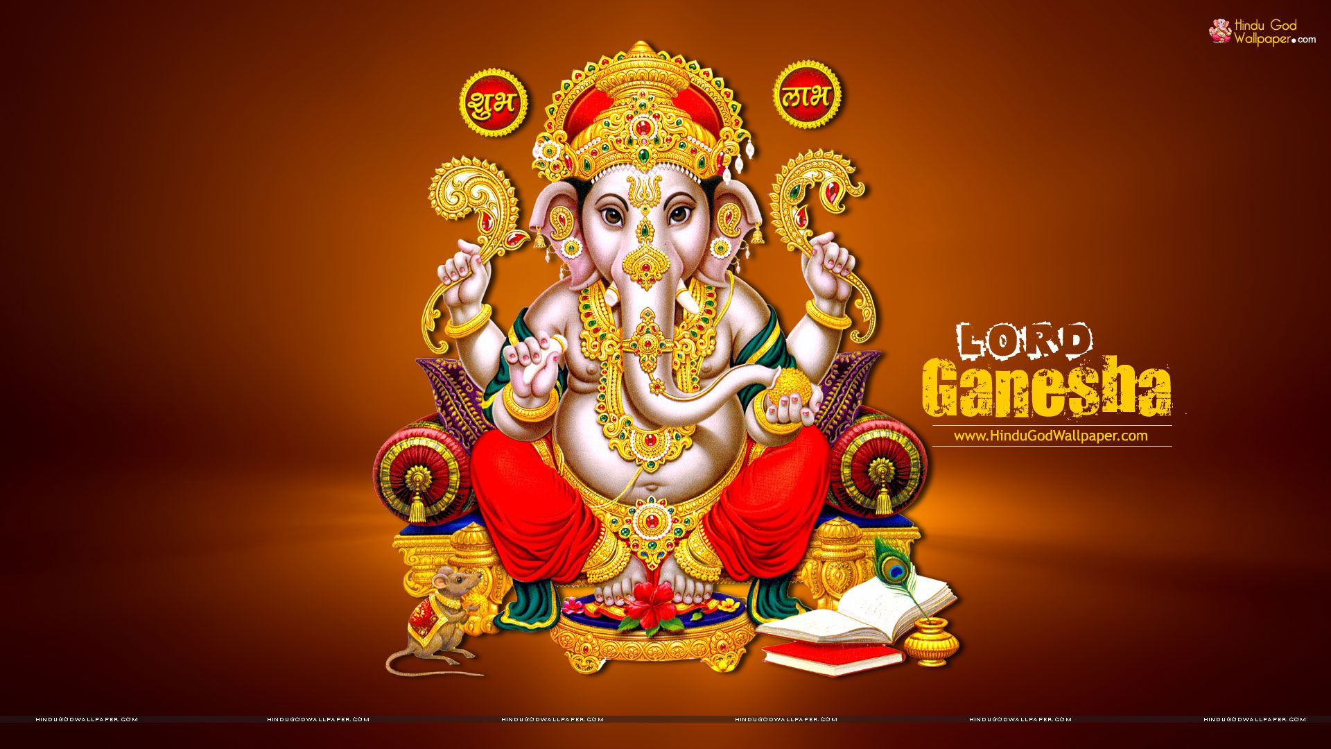 Lord Ganesha Pictures Hd: Lord Ganesha Wallpaper 1920x1080
