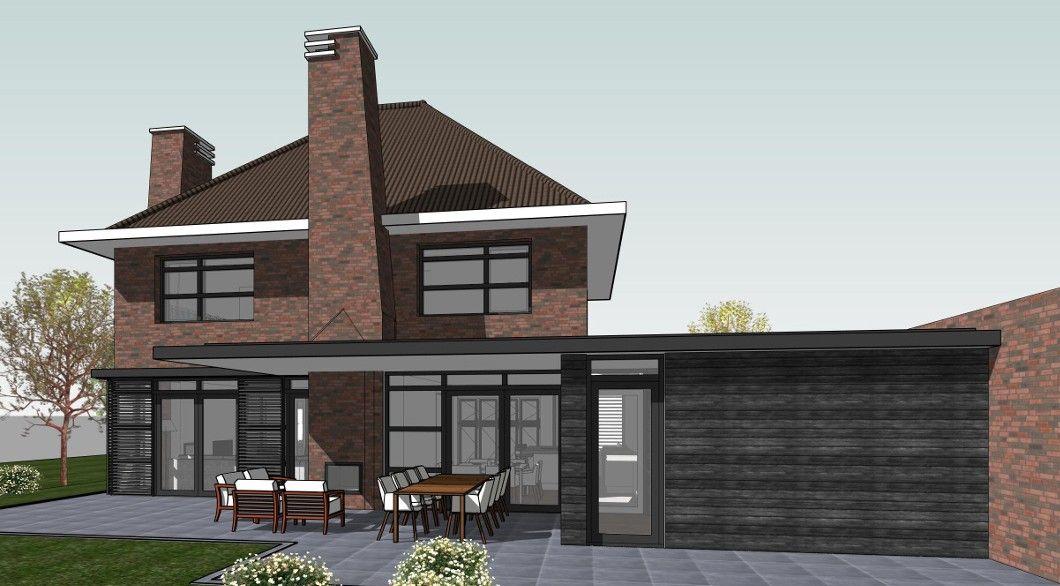 Dertiger jaren woning dakvorm als notariswoning huis buitenkant pinterest dutch - Ontwerp buitenkant ontwerp ...