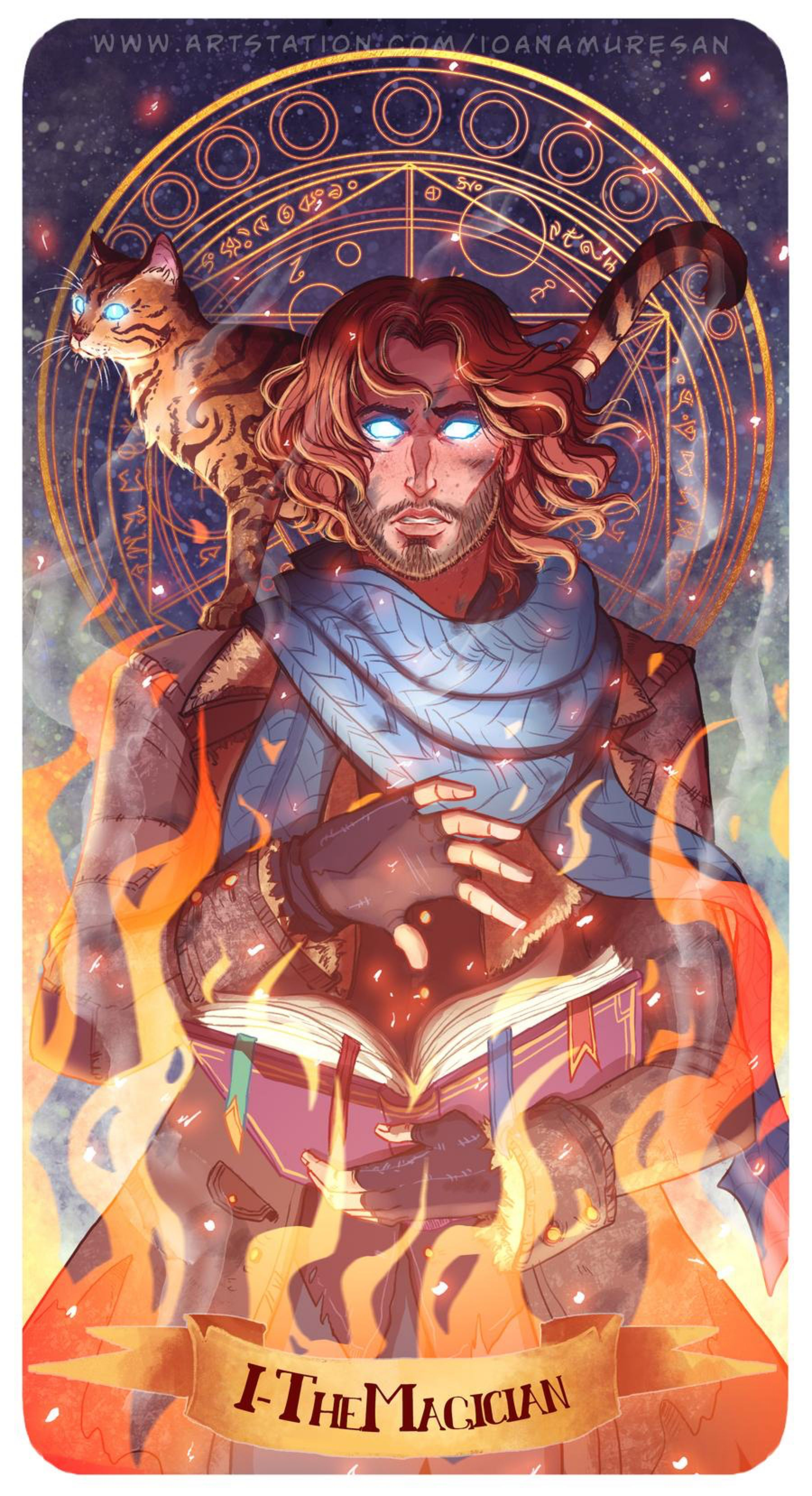 Caleb the magician by ioanamuresan on deviantart in