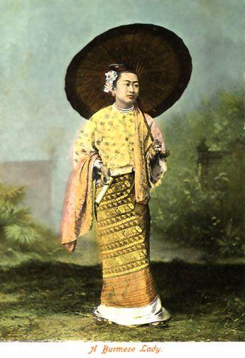 Longyi & Umbrella | Burma inspiration | Burma myanmar