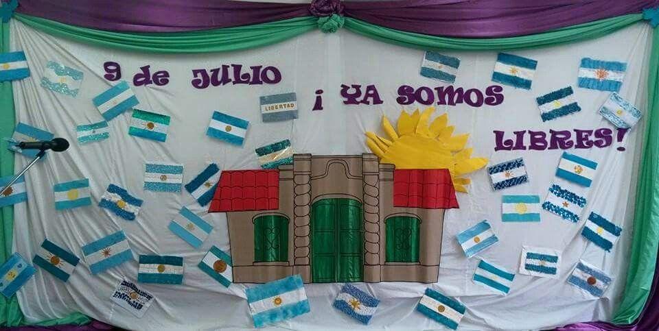 Pin de andrea bernachea en decoracion 9 de julio for Decoracion 9 de julio