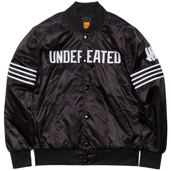 UNDEFEATED CHAMP JACKET (£100) ❤ liked on Polyvore featuring outerwear and jackets