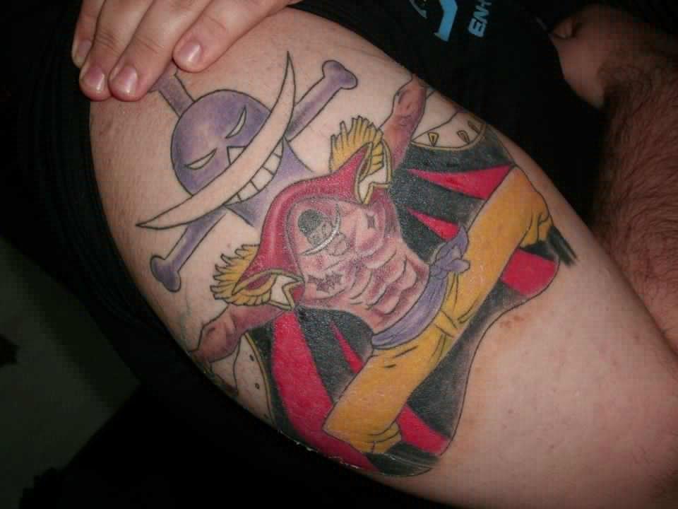 One Piece Hand Tattoo: Epic Whitebeard! #onepiece