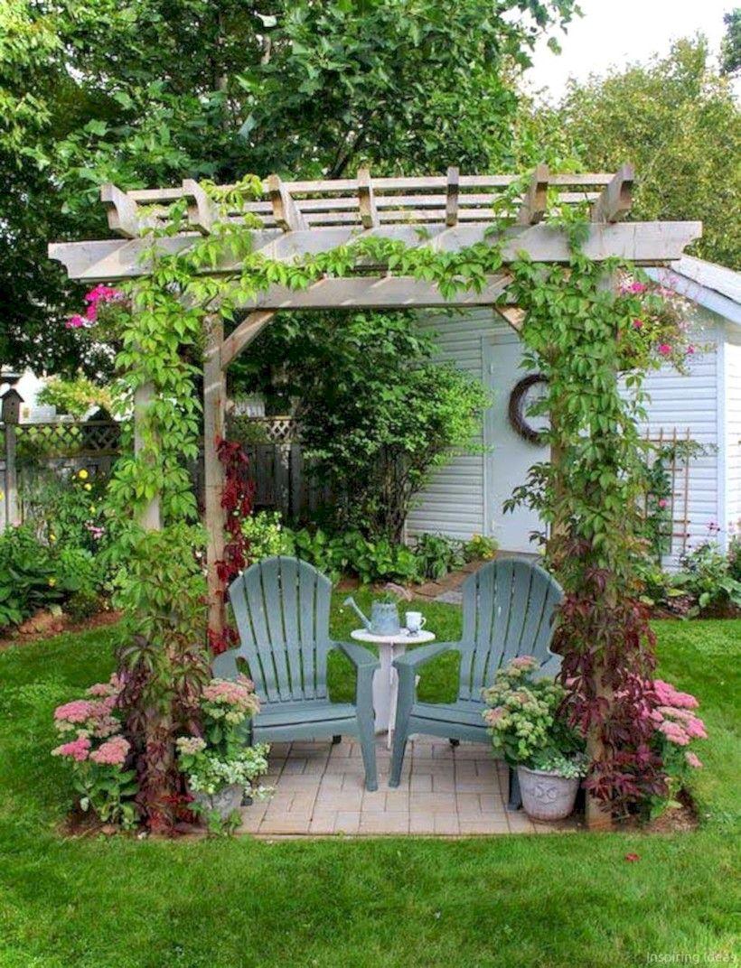 Wonderful patio decorating ideas backyard #outdoor #backyard #backyardlandscaping #backyardgarden #smallbackyard