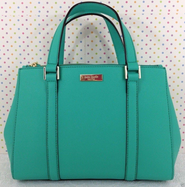 Kate Spade Newbury Lane Small Loden Satchel Handbag Purse Lt Teal Wkru2462 Ebay 167