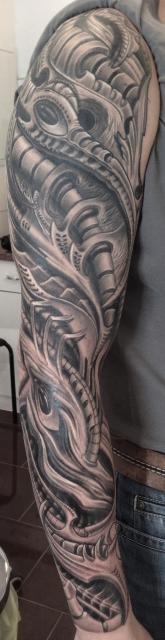 biomechanic sleeve tattoo pinterest tattoo ideen mechanik und tattoo vorlagen. Black Bedroom Furniture Sets. Home Design Ideas