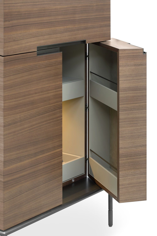 contemporary bar furniture. CONTEMPORARY BAR CABINET | Contemporary Bar Cabinet / Metal In Wood By Christophe Pillet - WINSTON LEMA Home Www.bocadolobo.com/ #luxuryfurniture # Furniture P