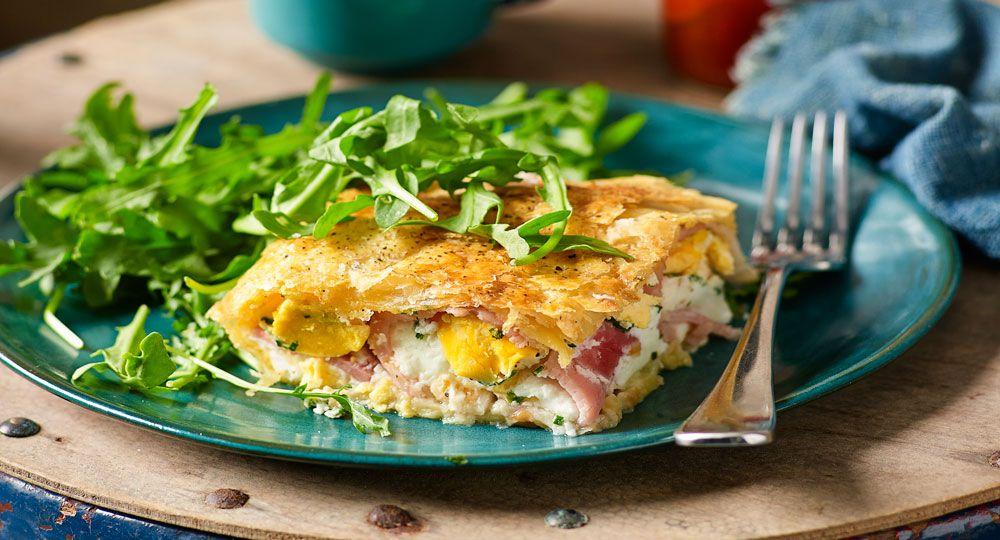Bacon and egg pie recipe food recipes australian food