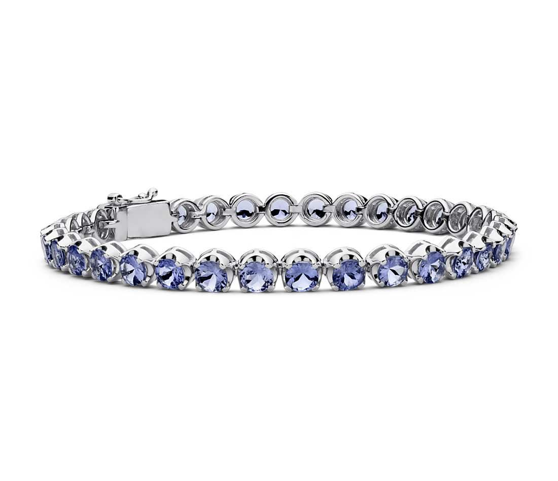 tanzanite sterling silver products s new york bracelet ginkgo collections
