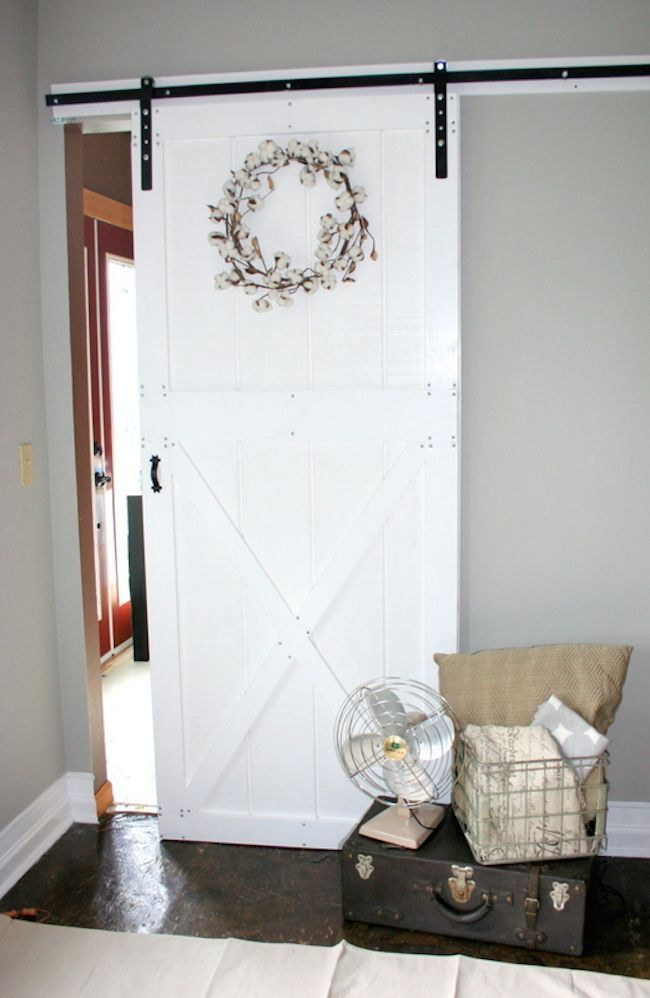 Diy barn door and hardware for around 80 do it yourself home pr diy barn door and hardware for around 80 do it yourself home projects from solutioingenieria Choice Image