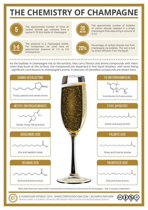 The Chemistry of Champagne.