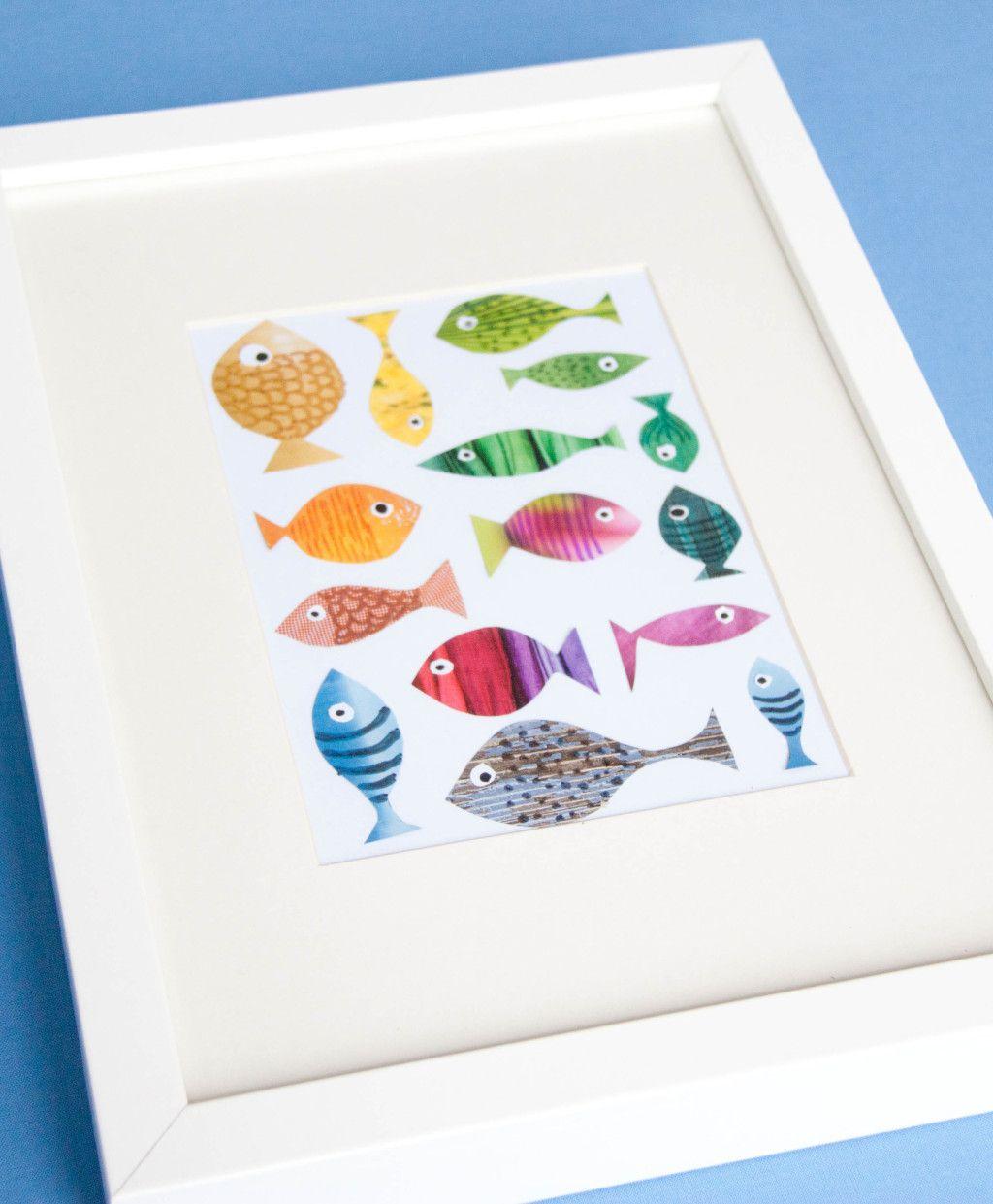 Fische Basteln Mit Kindern Kidsroom Fische Basteln