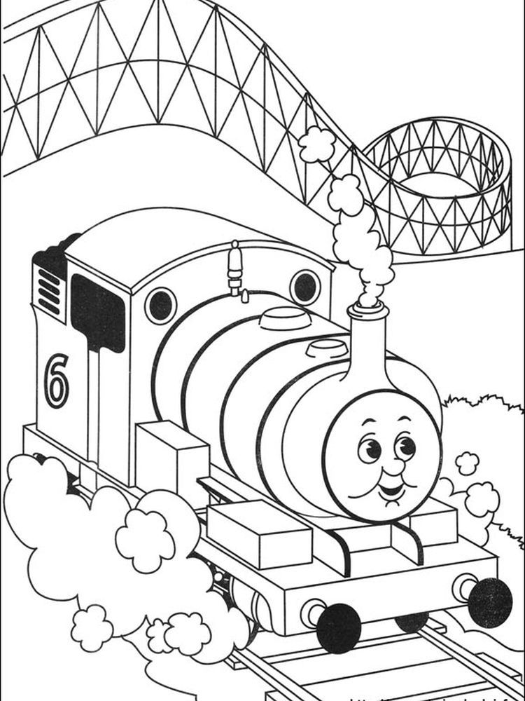 Coloring Pages Of Thomas The Train We Have A Thomas And Friends Coloring Page Collection That In 2020 Train Coloring Pages Thomas And Friends Free Kids Coloring Pages