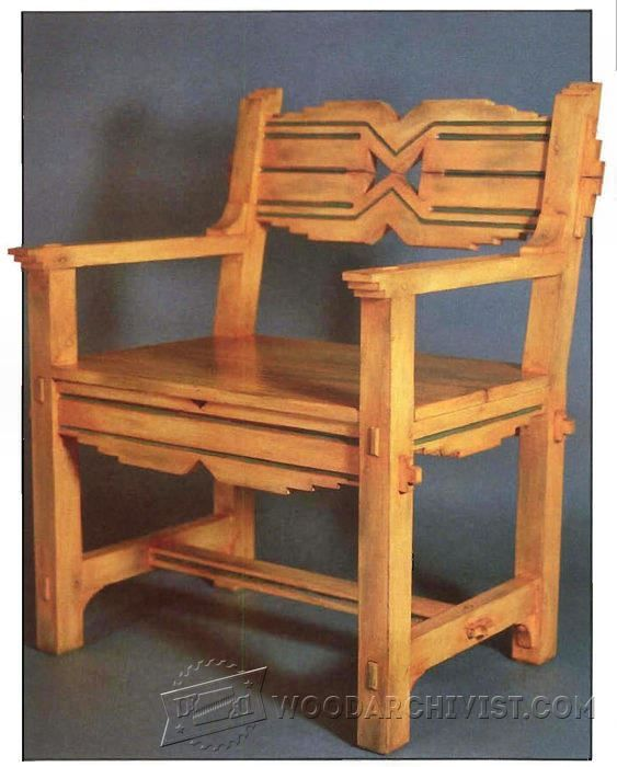 Santa Fe Chair Plans - Furniture Plans and Projects - Woodwork, Woodworking,  Woodworking Plans