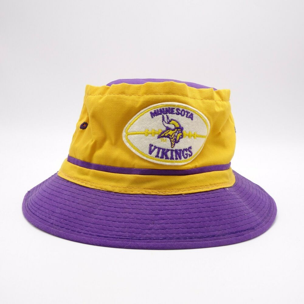 4a1645d056cbb Minnesota Vikings vintage bucket hat - Made in Korea - Front patch  YA   BucketHat