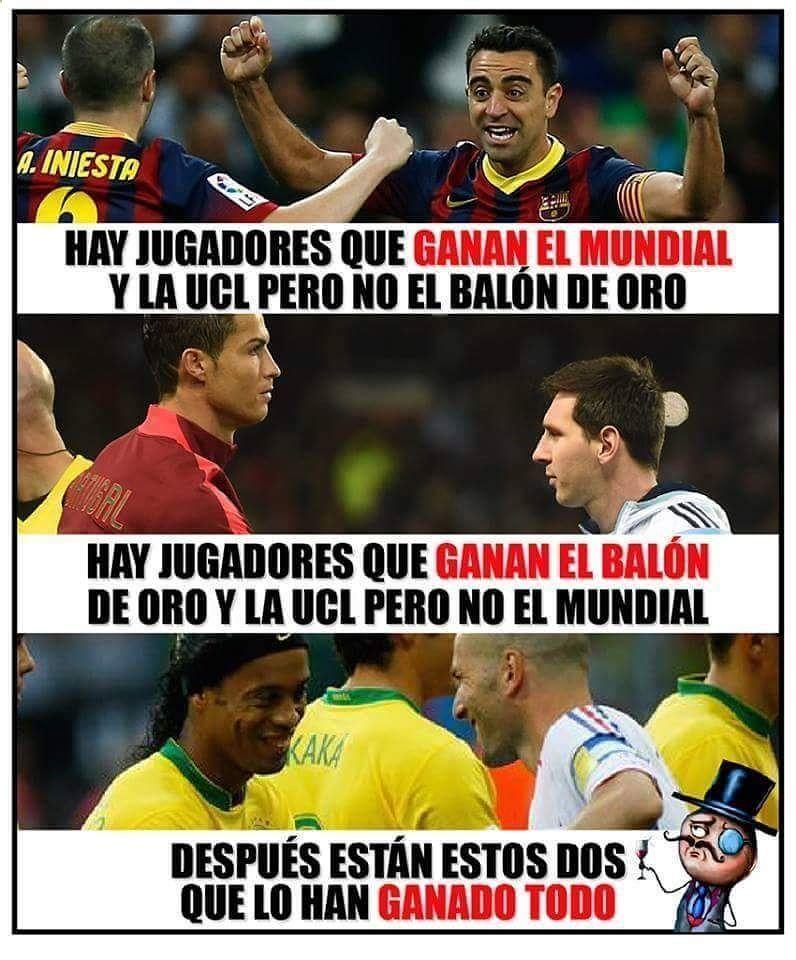 Los Mejores Memes De Futbol Espana Argentina Real Madrid F C Barcelona Boca Juniors River Memes Deportivos Memes De Futbol Chistes De Futbol