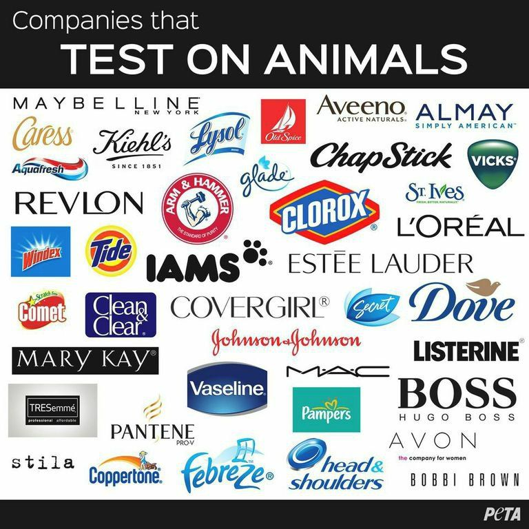 How do they test makeup on animals