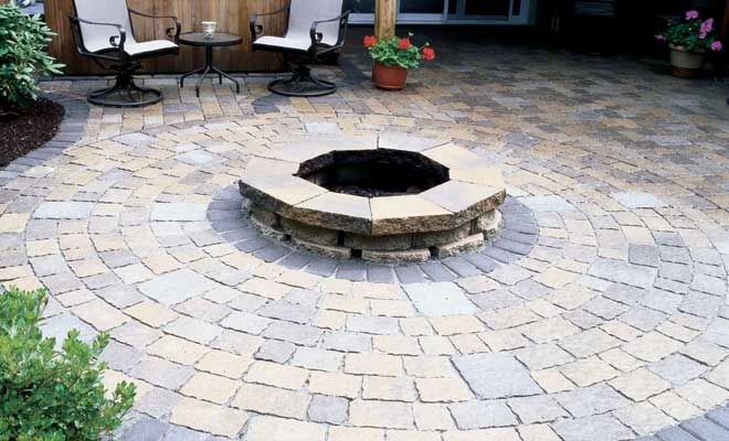 I Would Love To Smack Some Pavers Over Our Existing Concrete Patio And  Sidewalk. I