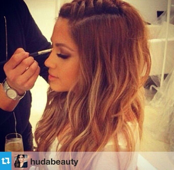 Jlo S Hair Braid Ombre Hair Styles Hairstyle Hair Beauty