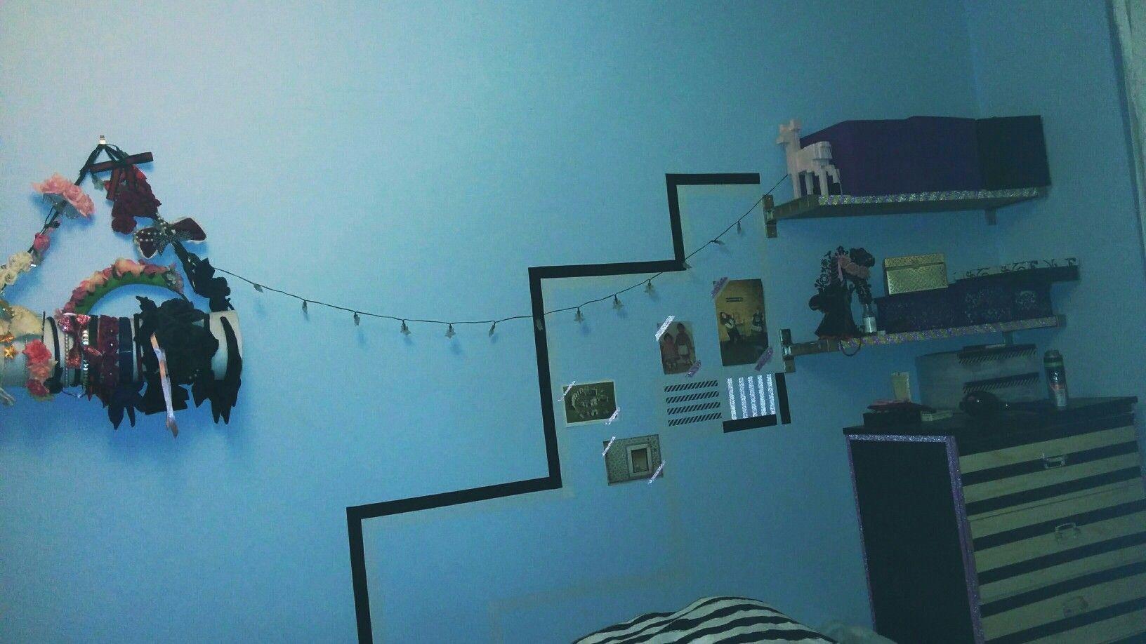 my washi tape bedroom!