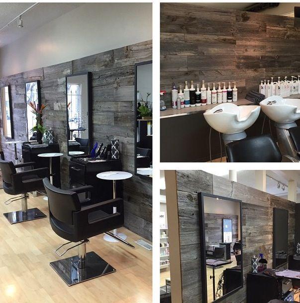 Genial idea para recubrir las paredes de tu beauty salon - Esteticas decoracion interiores ...
