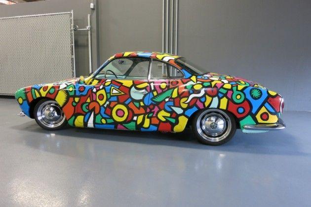 Janis Joplin's Porsche 356 Art Car