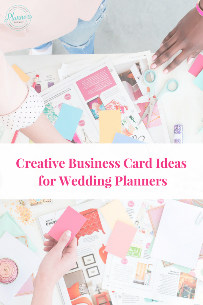 Wedding Planner Business Card Ideas | Wedding planners, Planners and ...