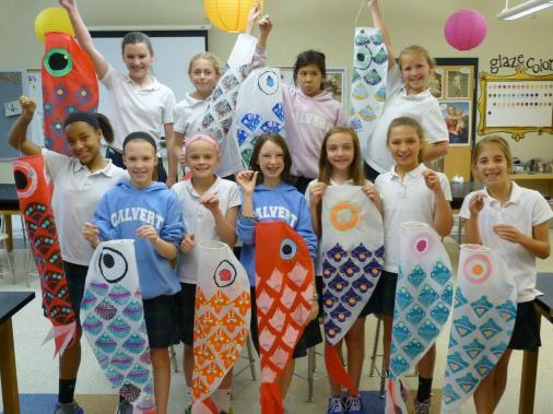 The Calvert Canvas: Adventures in Middle School Art! #arteducation #art #education #middle