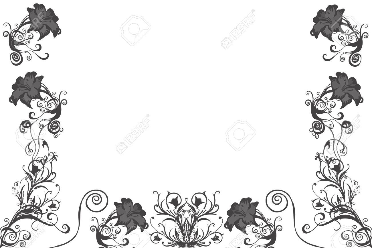 9434637 black illustrated flower background design with space for 9434637 black illustrated flower background design with space white flowersbackgroundsbackdrops mightylinksfo