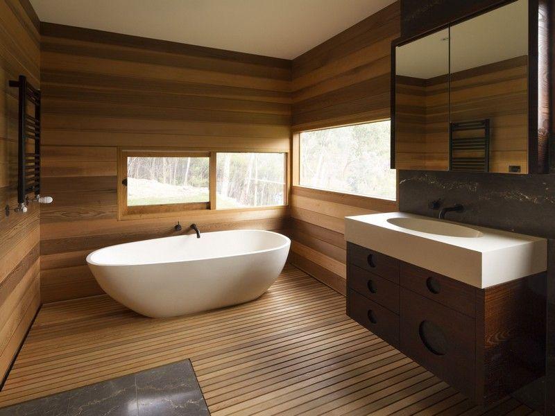 Fesselnd Freistehende Badewanne Im Bad U2013 50 Luxuriöse Und Zeitlos Elegante  Gestaltungsideen #badewannedusche #barrierefreiesbadezimmer #