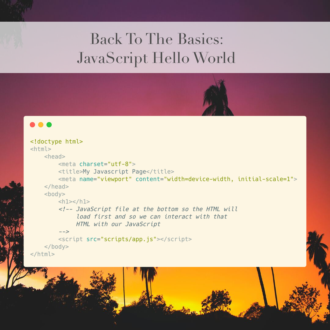 Javascript on your webpage adds a whole world of