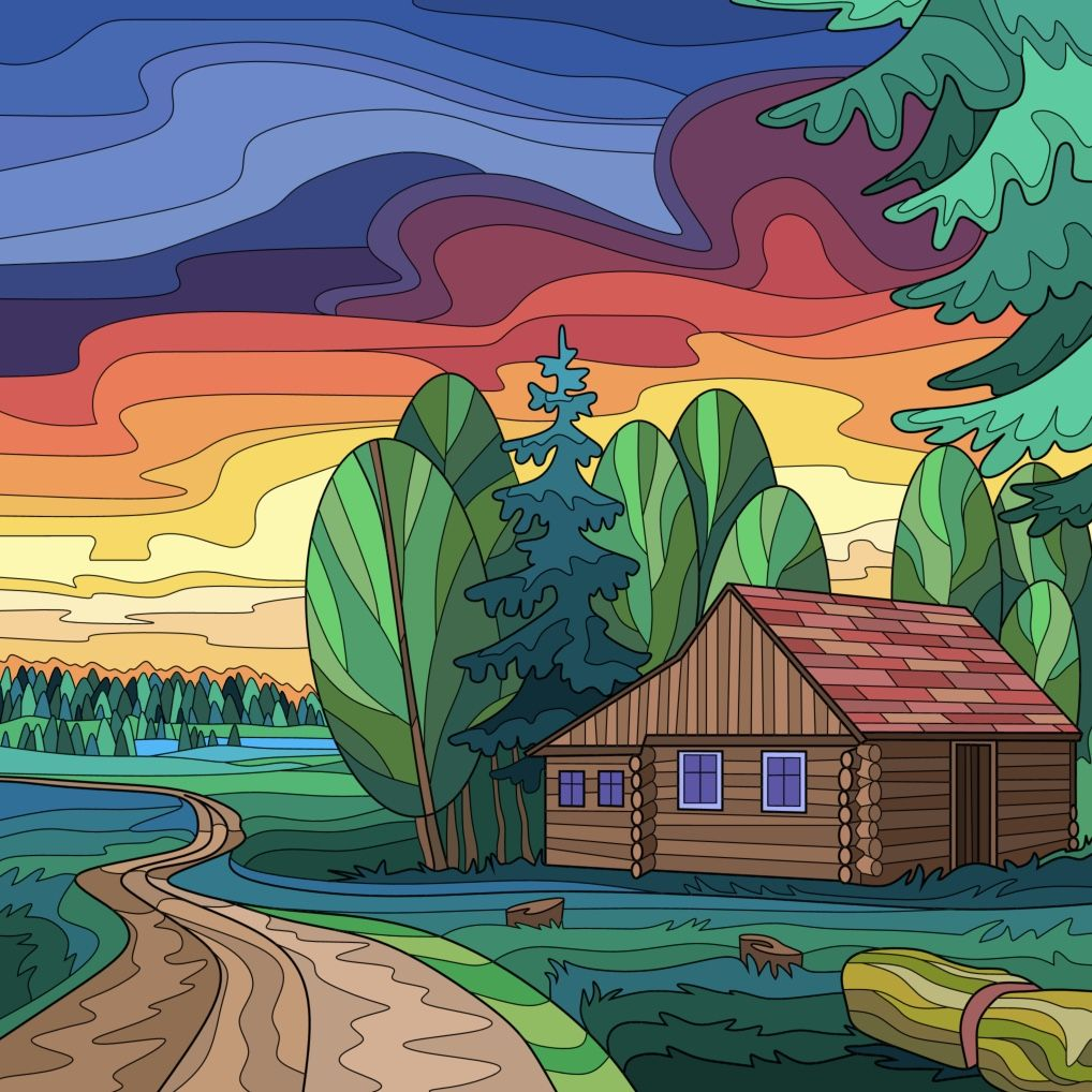 Пин от пользователя Mona на доске Happy Color | Раскраски ...